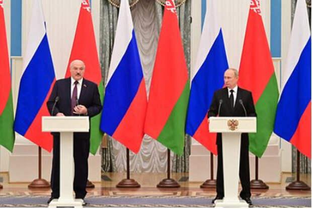 В Белоруссии рассказали о встрече Путина и Лукашенко