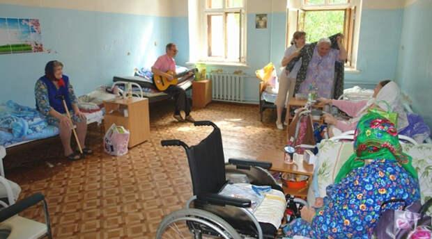 Дом престарелых села Мещерино, Тульская область.Фото: ©butovohram.ru