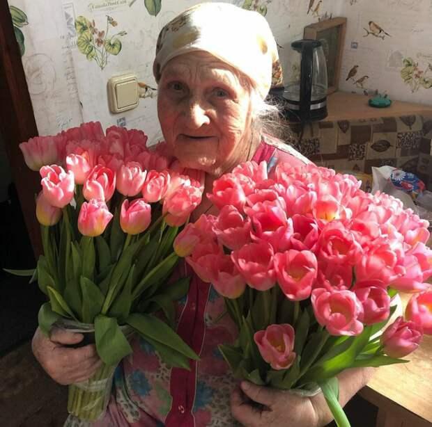 8 марта 2020 года. Цветы от любимого внука. @instagram.com/evgeniya060931/
