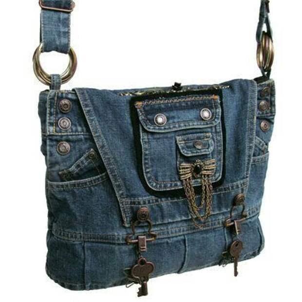 Джинсовые сумки (трафик)