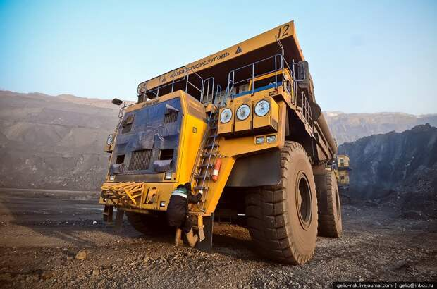 Самая большая машина на территории СНГ