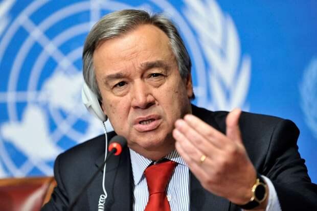 Глава ООН призвал лидеров G20 снять все санкции