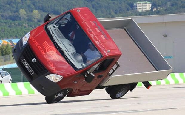 ГАЗель на двух колесах - это не фотошоп!
