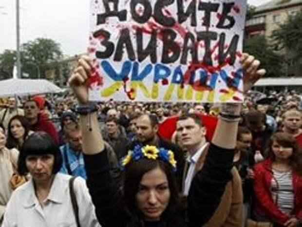 Новость на Newsland: Президент Украины ищет внешнего врага перед угрозой майдана