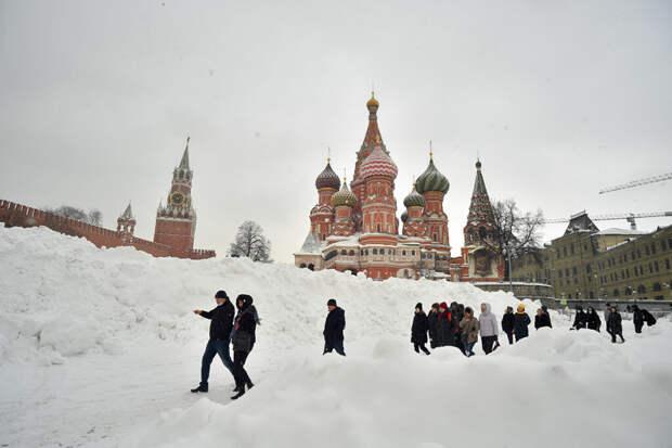 Через 40 лет снег в Москве станет аномалией