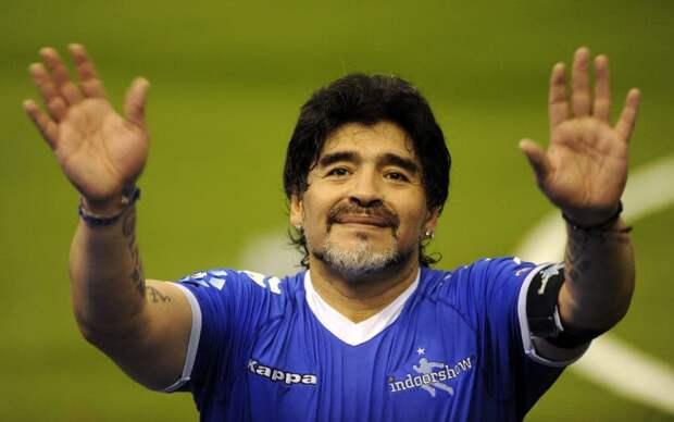 Умер легендарный аргентинский футболист Диего Марадона. Ему было 60 лет.