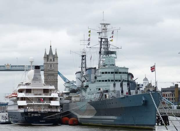 Британия направит корабли в Чёрное море в знак поддержки Украины