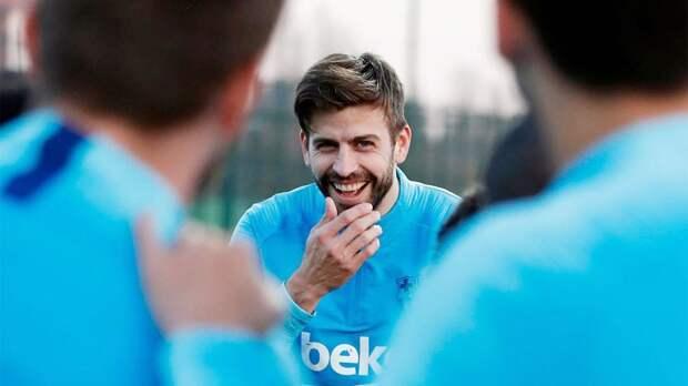 Пике приступил к тренировкам в «Барселоне»
