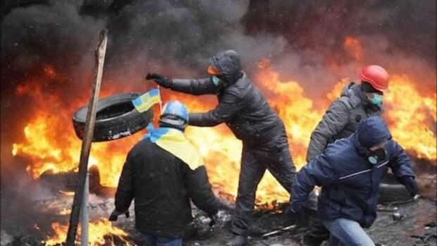 На рубеже 2013-2014 годов  на Украине организовали «революцию гидности»