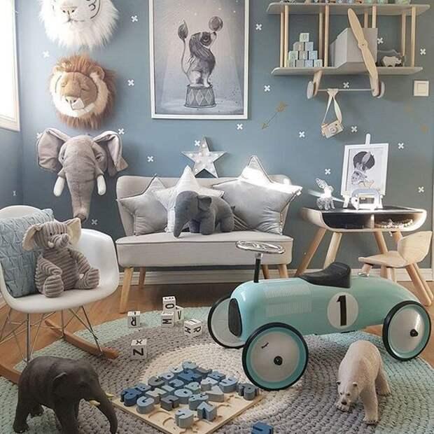 Сказочные детские комнаты для малышей (трафик)