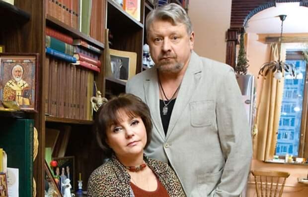 Актриса с третьим супругом, Игорем Воробьевым | Фото: shoubiz.guru