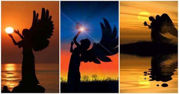 Выберите ангельский силуэт и получите свое послание