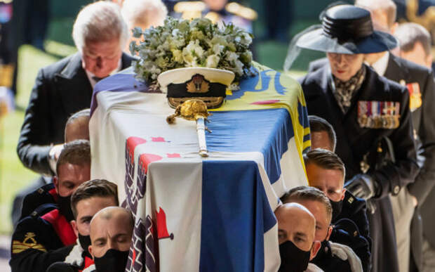 Прощание с принцем Филиппом