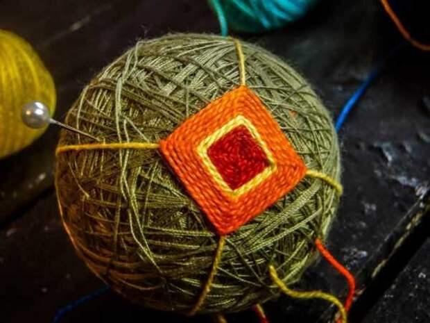 Шары темари мастер класс для начинающих  Темари своими руками: правила и описание работы