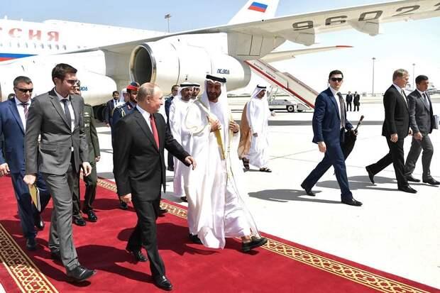 Визит Путина в ОАЭ: о чем договорились президент РФ и наследный принц Абу-Даби
