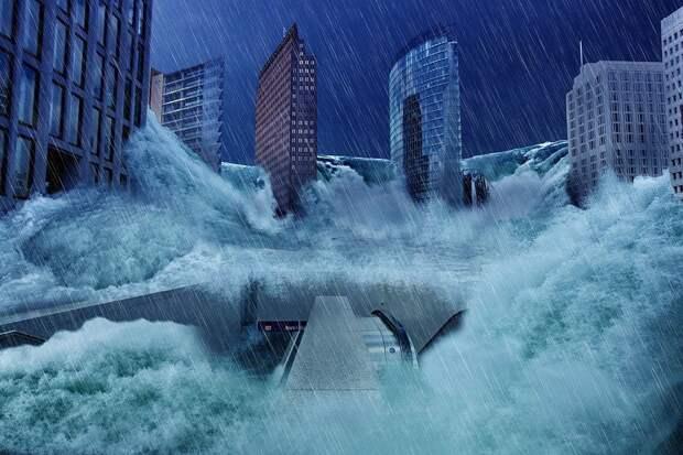 К 2040 году пятая часть крупных городов скроется под водой Мирового океана
