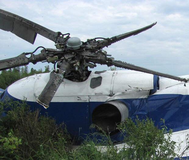 Жесткая посадка. Названа причина крушения вертолета Ми-8 В Хабаровском крае