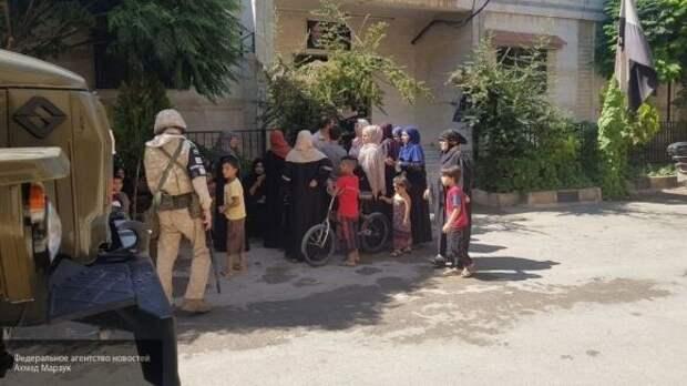 Российская военная полиция продолжает патрулирования в провинциях Сирии