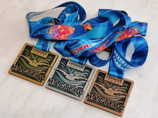В Саранске состоялся Чемпионат России по плаванию в категории «Мастерс». Крымчане в лидерах