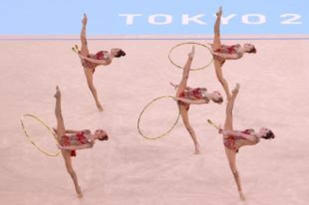 Сборная России по художественной гимнастике завоевала серебро Олимпиады