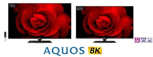 Sharp представила новые 8K-телевизоры