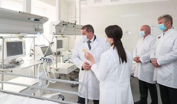 Бочаров поручил создать пять сосудистых центров в Волгограде и Волжском