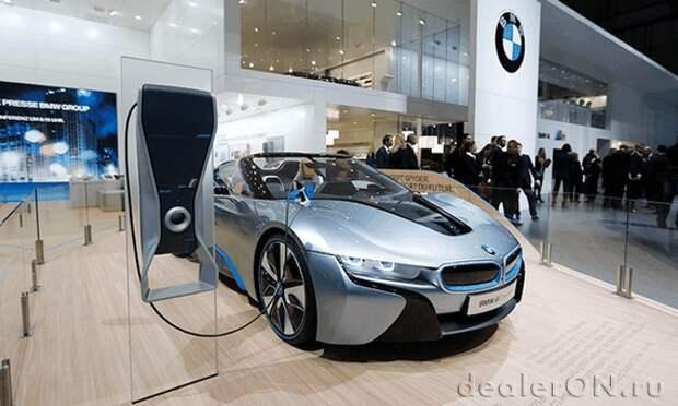 BMW не видит в Tesla конкурента для подключаемого гибридного суперкара i8