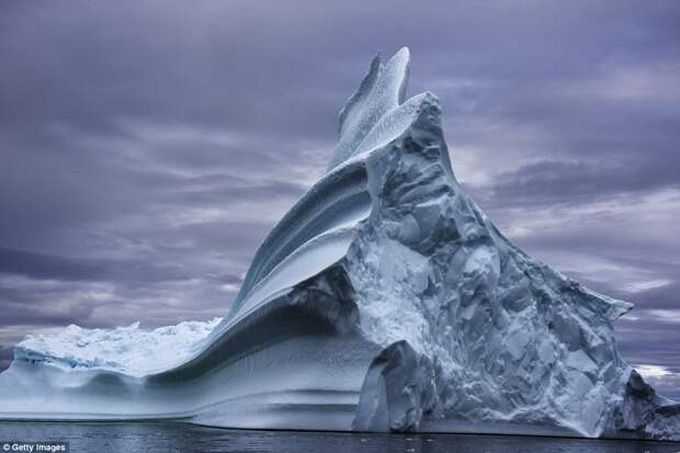 Как выглядят самые древние в мире айсберги