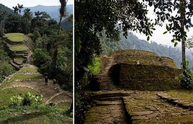 Сьюдад-Пердида: «затерянный город» в Колумбии (7 фото)