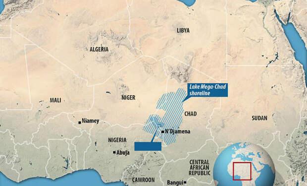 Под песками Сахары нашли древнее озеро: ученые НАСА считают, что ему 7000 лет