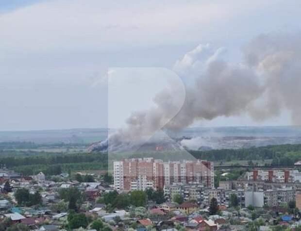 Специалисты не нашли в воздухе загрязняющих веществ после пожара на рязанской свалке