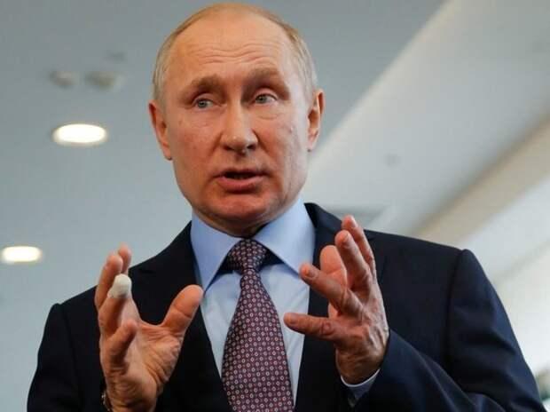 Путин назвал необходимое РФ число вакцинировавшихся россиян