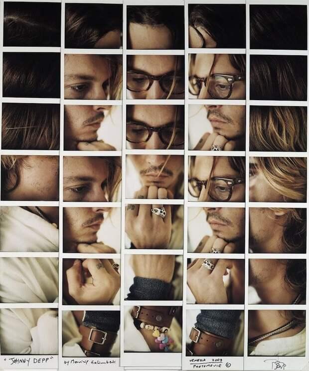 Лица знаменитостей, собранные из завораживающей мозаики