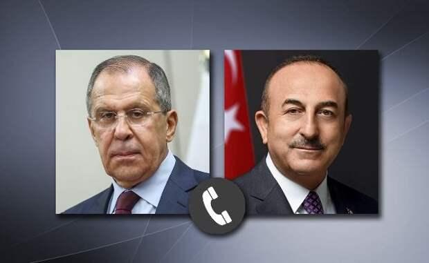 МИД России: Лавров иЧавушоглу высказались запрекращение боёв вКарабахе