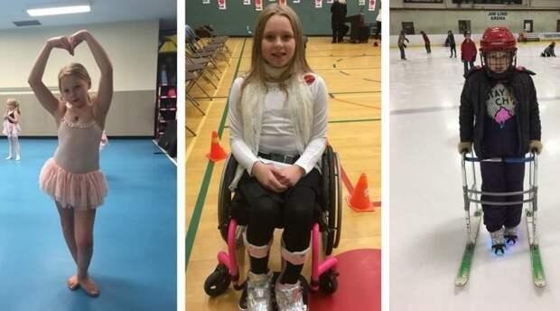 Вопреки приговору врачей парализованная девочка научилась танцевать в мире, история, люди, ноги, танцы, умница, чудо