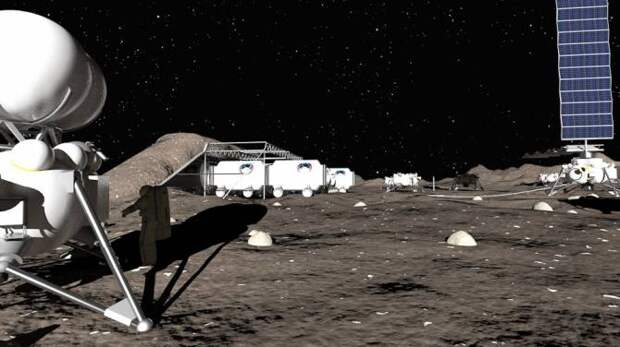 Частная российская компания готова построить базу на Луне