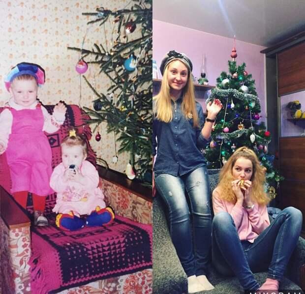 Милые сестрички спустя 20 лет люди, семья