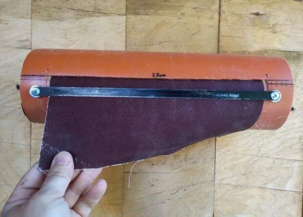 Классная самоделка для гаража: диспенсер для наждачной бумаги