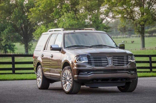 Lincoln Navigator – американский полноразмерный внедорожник.