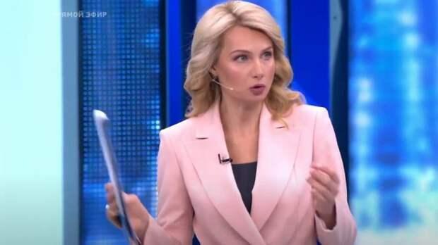 Лосева колко отреагировала на «танец» украинца Запорожского в эфире «Время покажет»