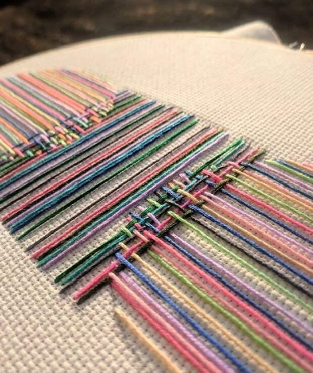 Вышивки Бреда Дункана