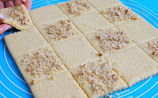 Медовое печенье к чаю за 15 минут: добавляем в тесто 3 ложки меда