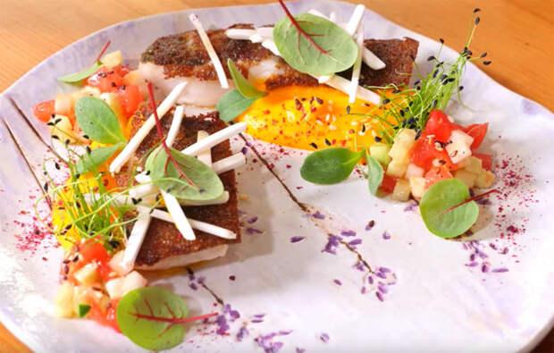 Рыба в хлебе: способ приготовления из мишленовского ресторана