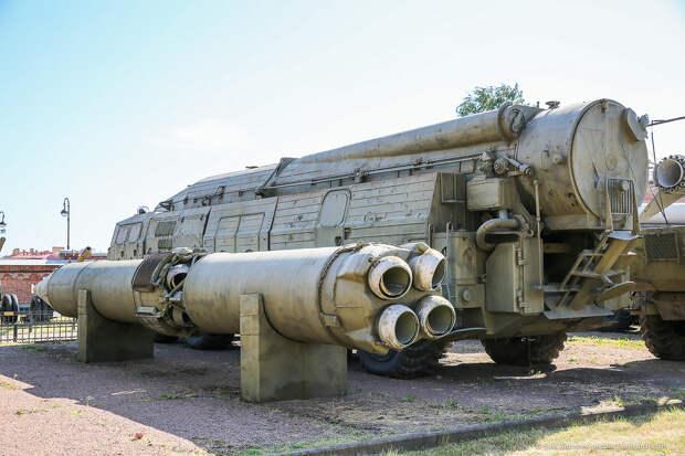 Музей артиллерии в Питере. Ракетные комплексы