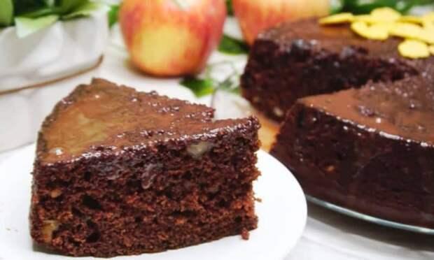 Шоколадный десерт Бедный студент. Всё взяли, смешали и в духовку 2