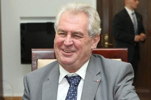 Земан призвал не делать поспешных выводов о событиях во Врбетице