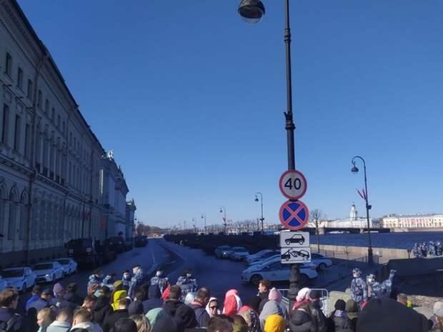 В Петербурге начался парад Победы