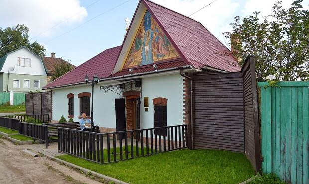 Село Вятское Ярославской области, признанное самой красивой деревней России 2015-го года
