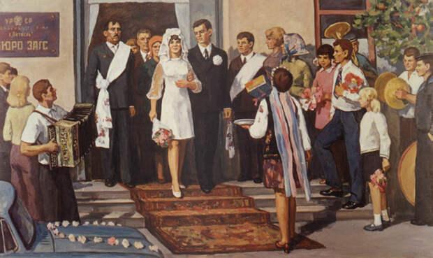 Крепкий любовный Советский Союз
