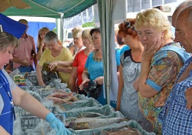 Воскресенье севастопольцы провели с рыбой в зубах (фото)